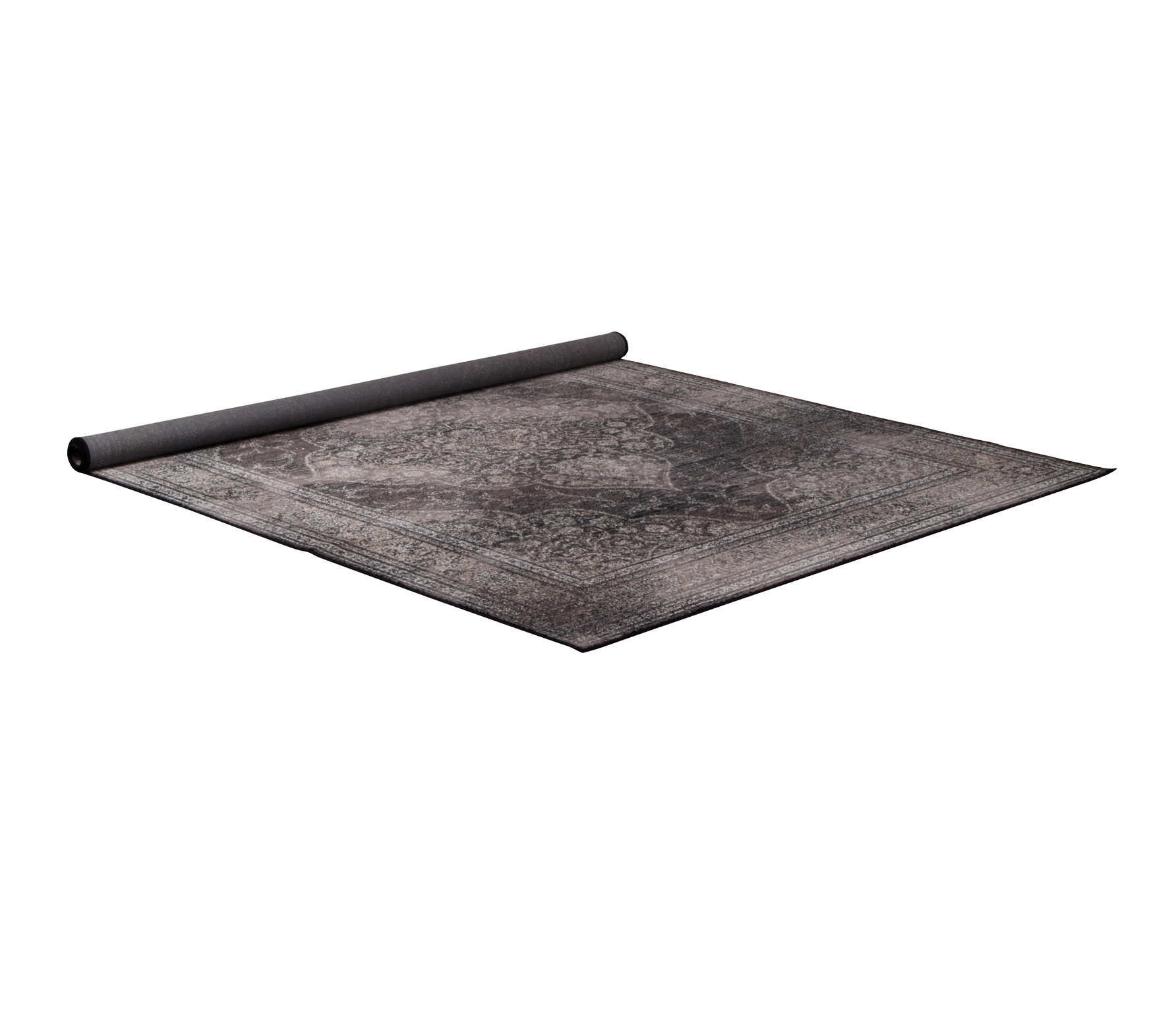 Dutchbone Rugged Dark vloerkleed 200x300 cm