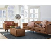BePureHome Rodeo loveseat 1,5- zits fauteuil cognac  recycle leer
