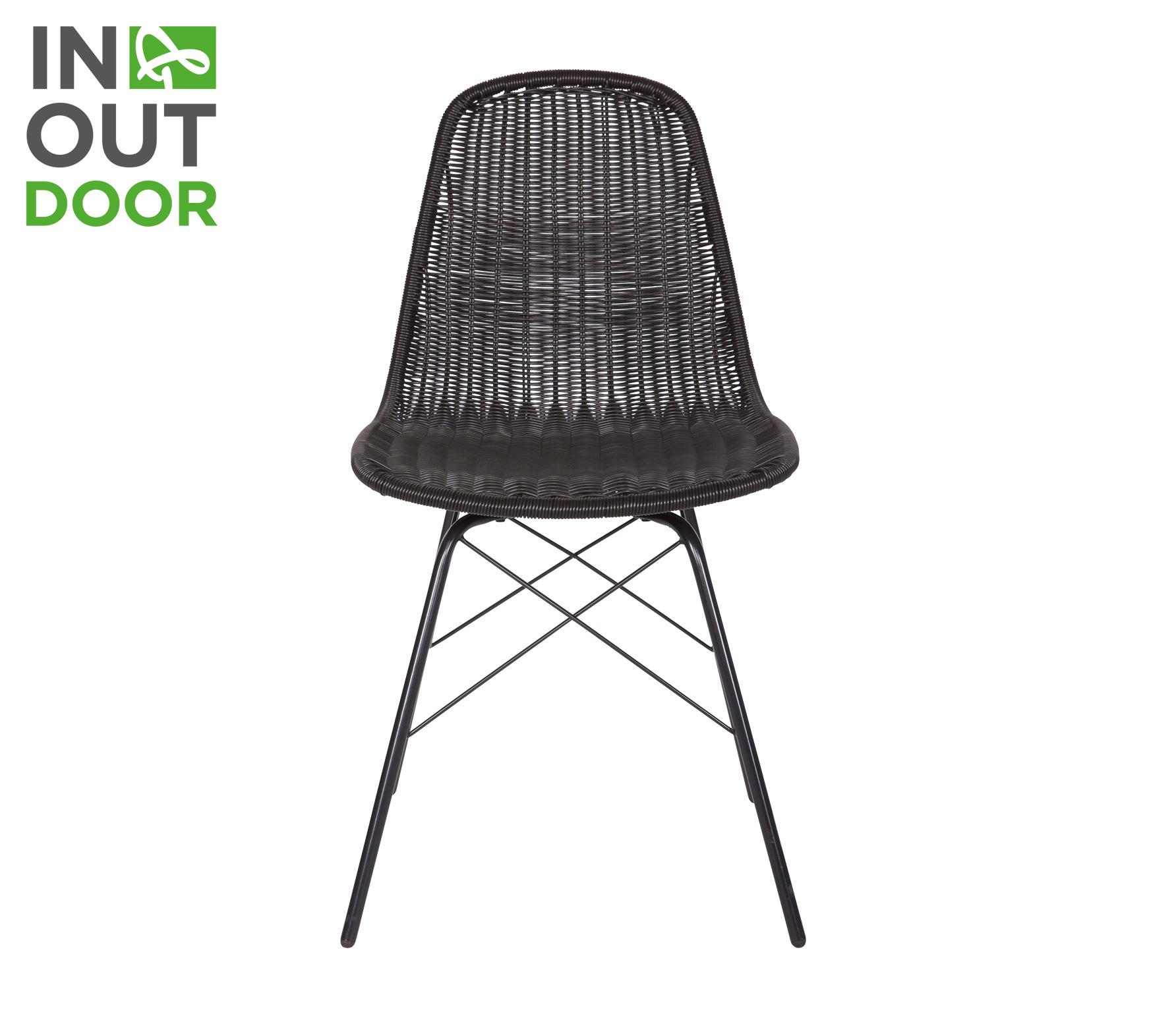 Excellent bepurehome spun stoel zwart with kuipstoel voor for Kuipstoel voor buiten