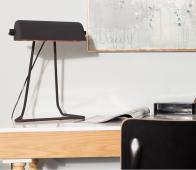 Zuiver Broker bureaulamp zwart Zwart