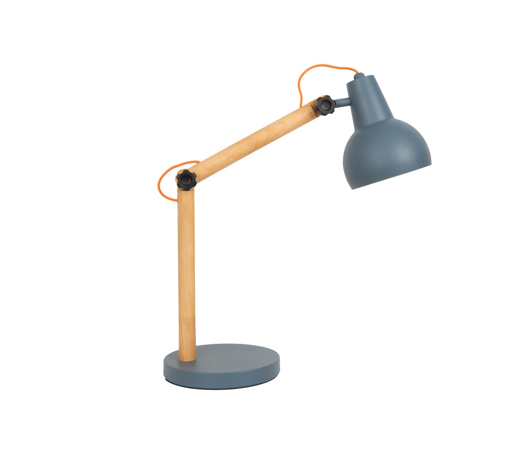 Zuiver Study tafellamp donkergrijs Donkergrijs