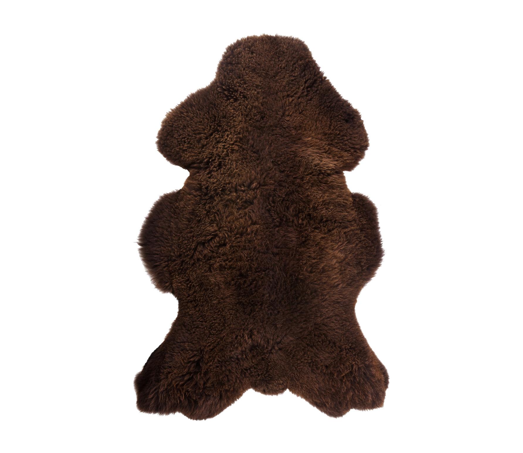 WOOOD Schapenvacht bruin 100x60 cm Bruin
