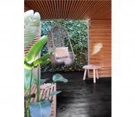 HKLiving Tree salontafel Ø 65 cm x H 46 cm naturel  Bruin