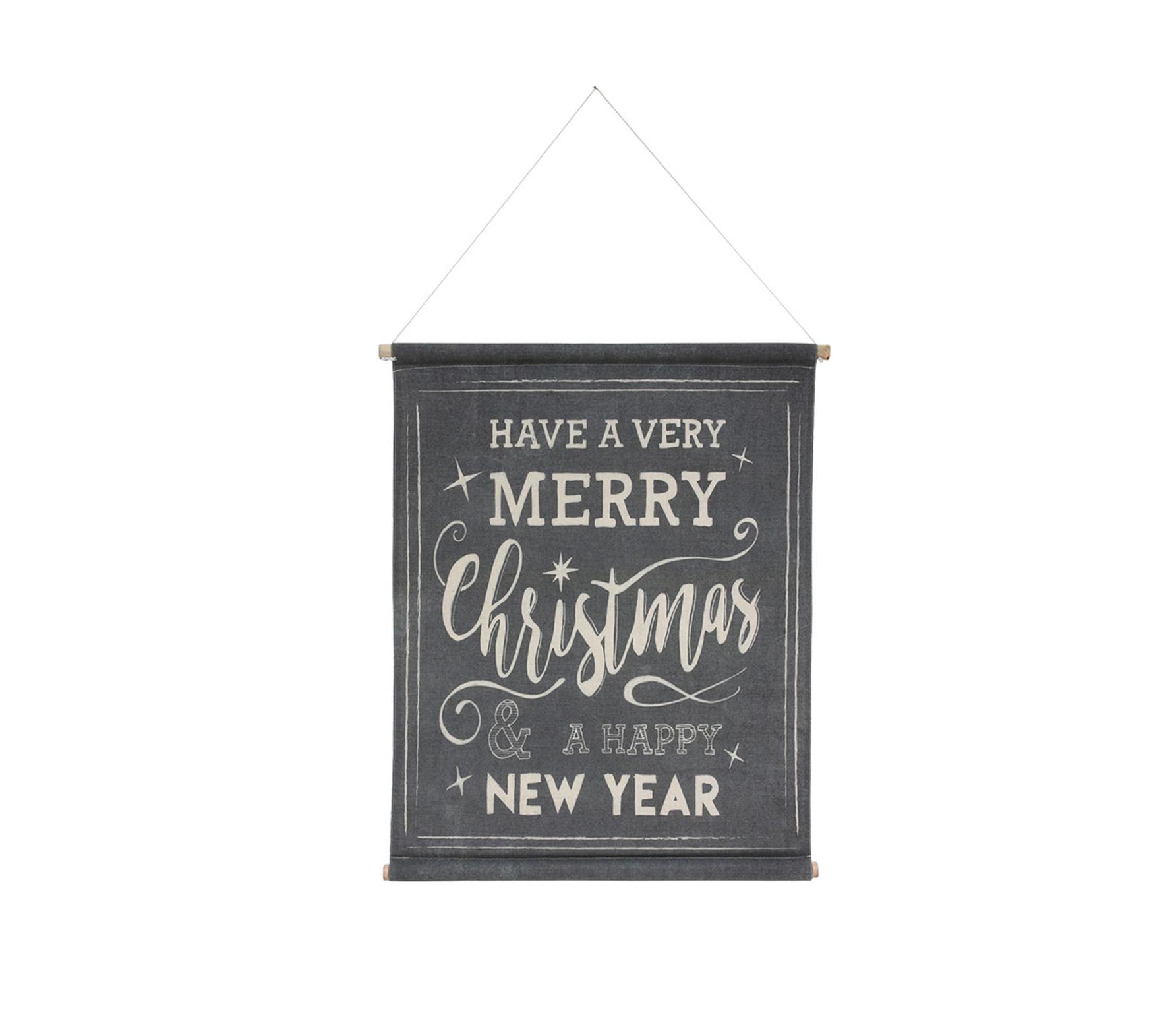 HKLiving Season's greetings kerstspecial poster canvas