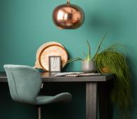 Zuiver OMG bureaustoel blauw zwart Blauw zwart