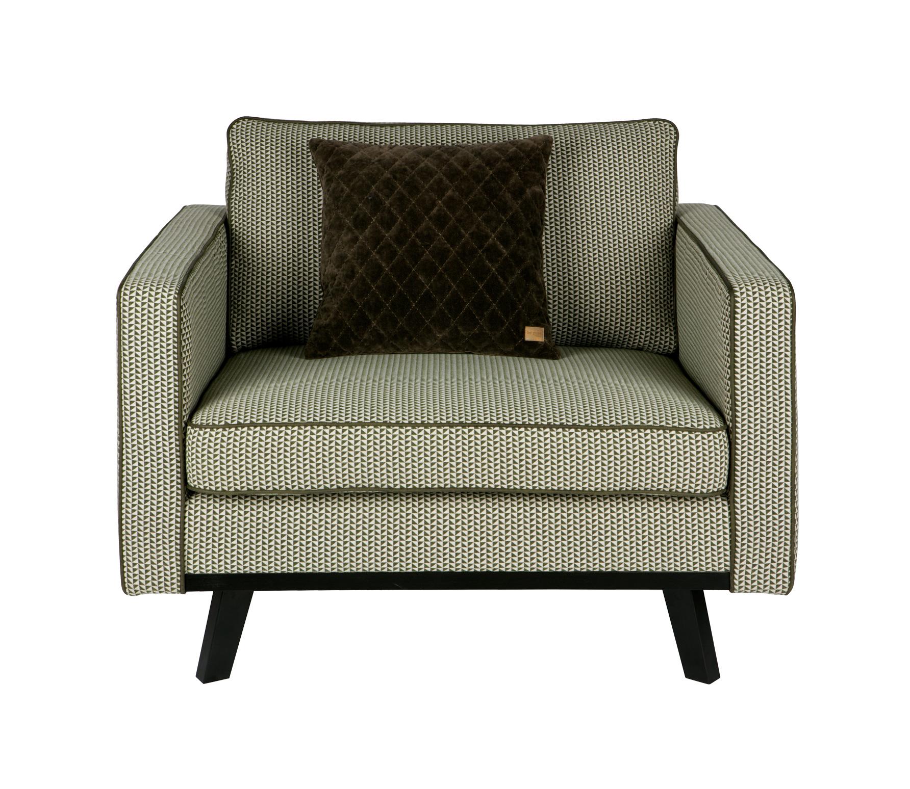 BePureHome Rebel fauteuil groen vrijstaand