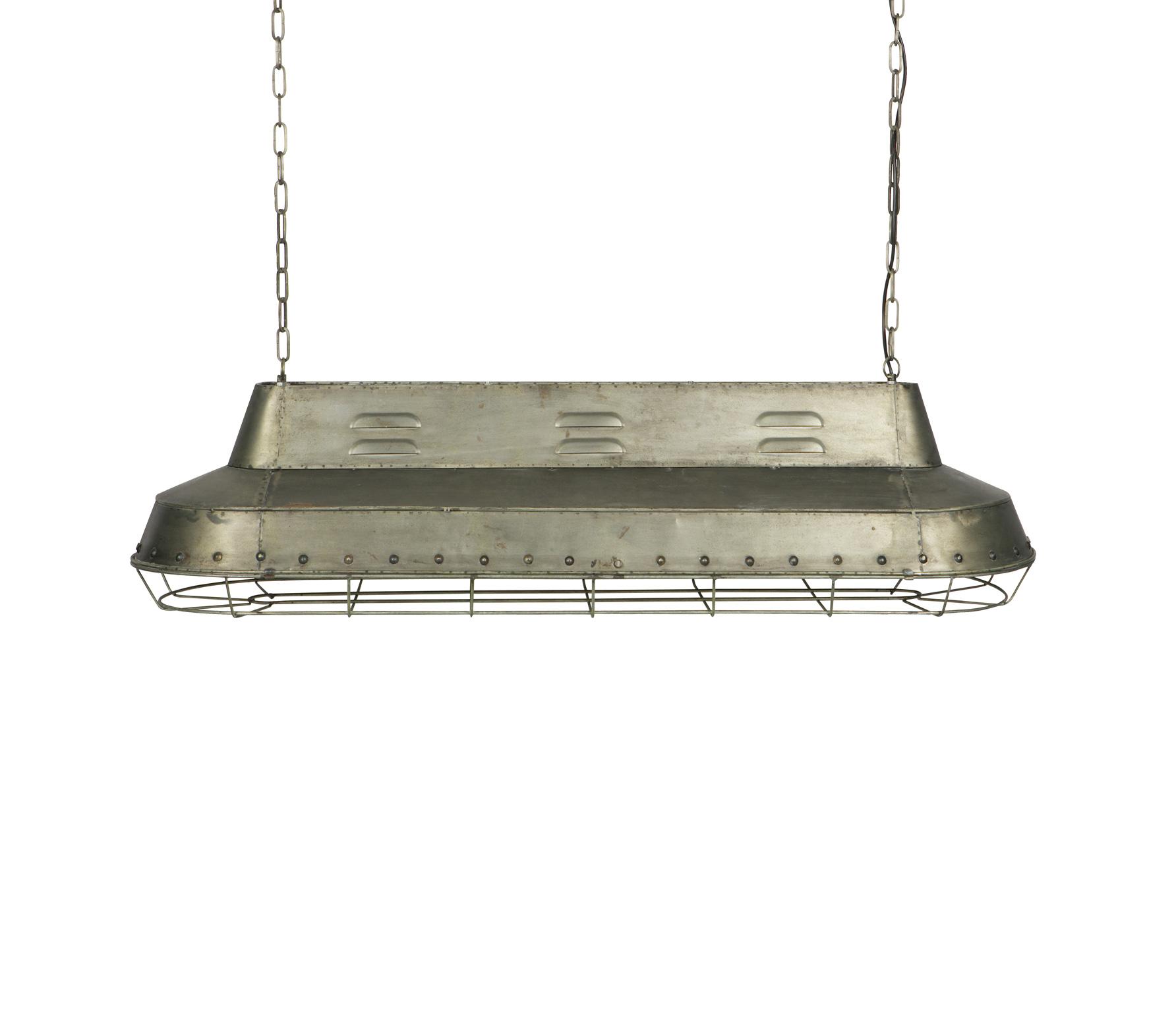 BePureHome Spotlight hanglamp vintage grijs metaal Metaal