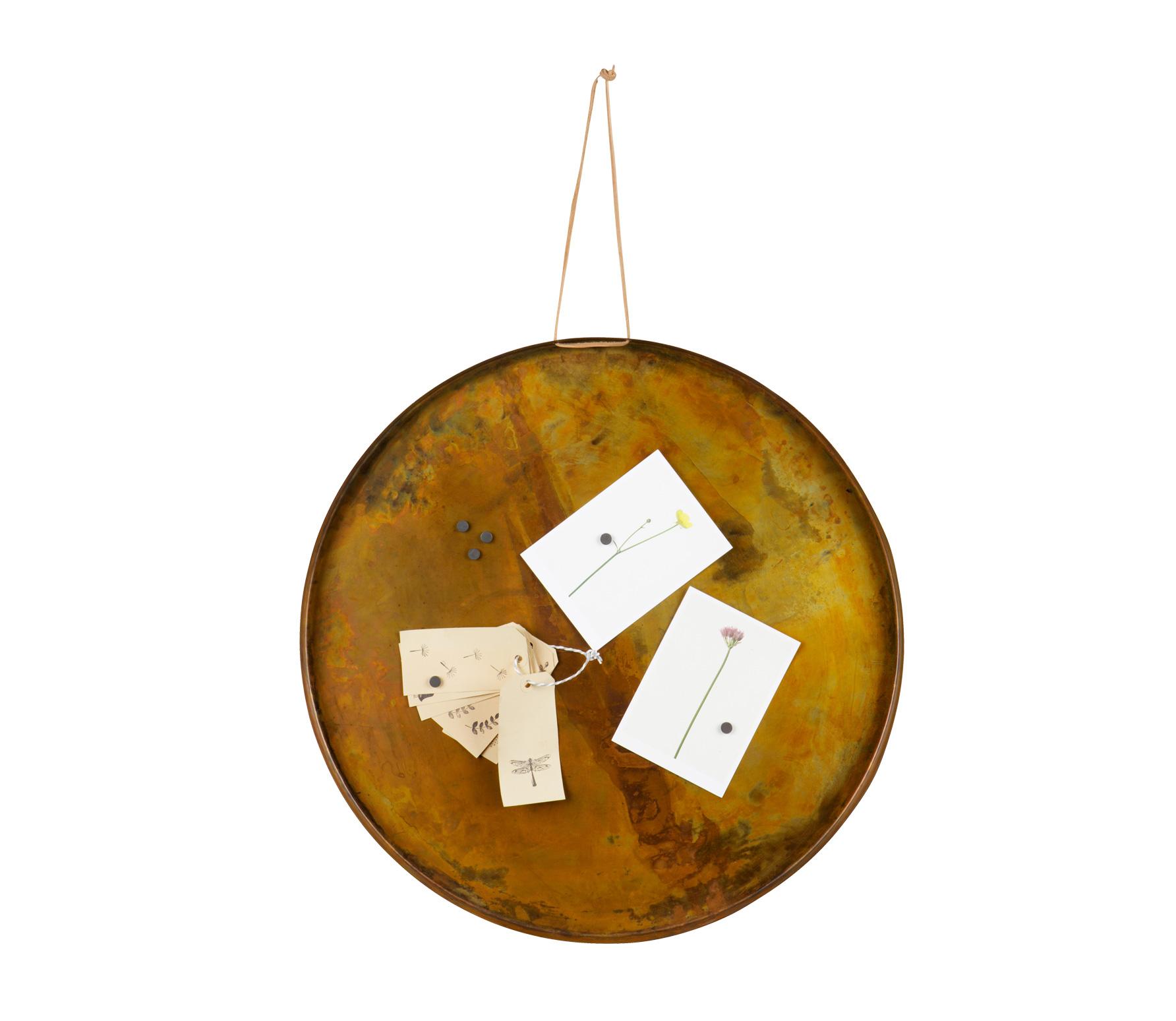 BePureHome Memories magneetbord antique copper vrijstaand