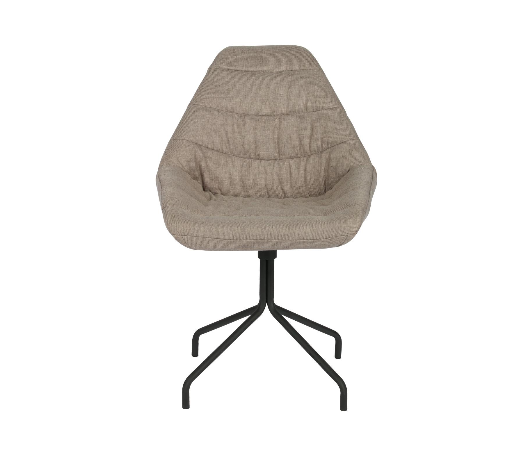 Basiclabel Bug eetkamerstoel fauteuil twill taupe vrijstaand