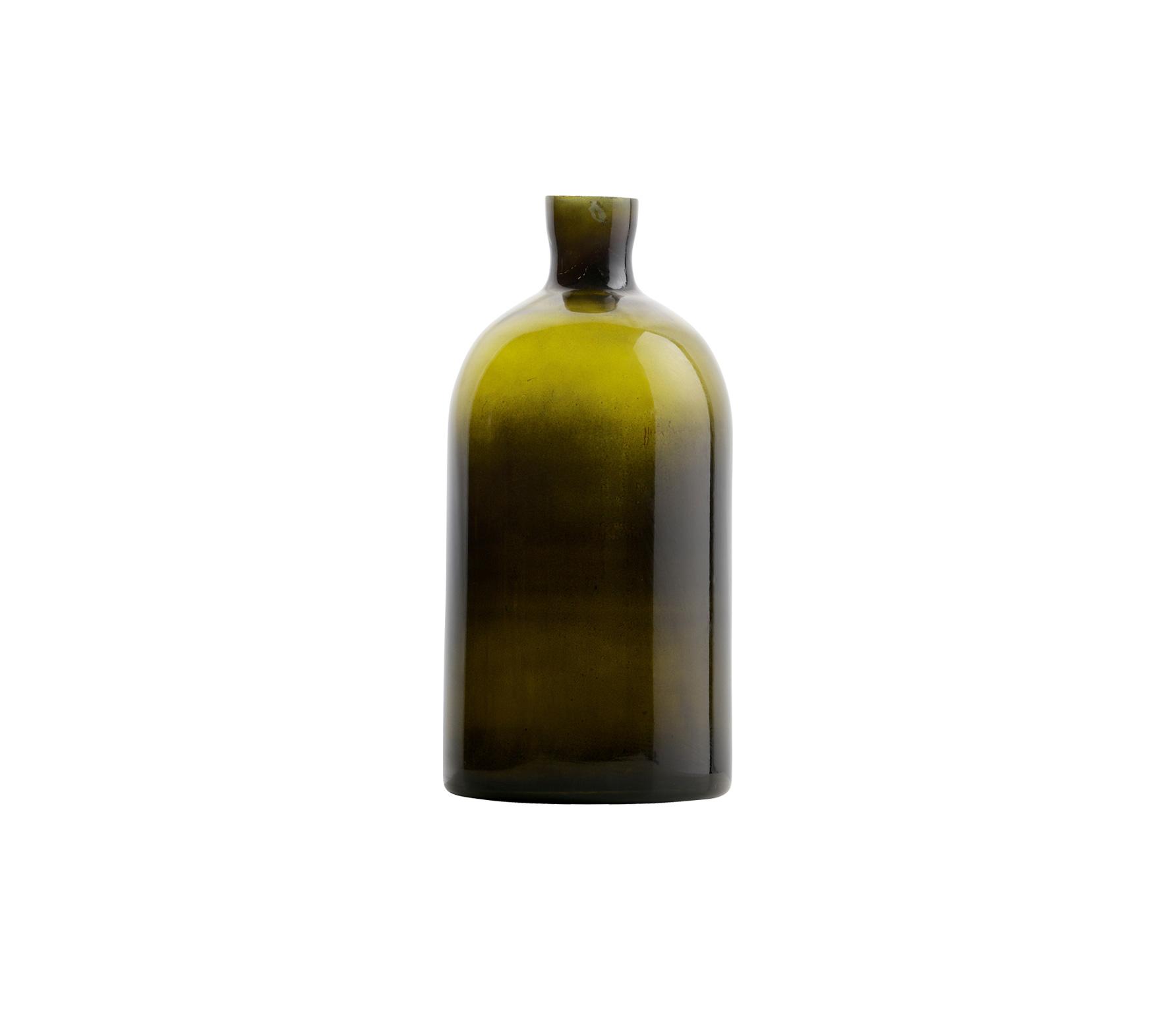 BePureHome Chemistry glazen vaas Large olive Olive