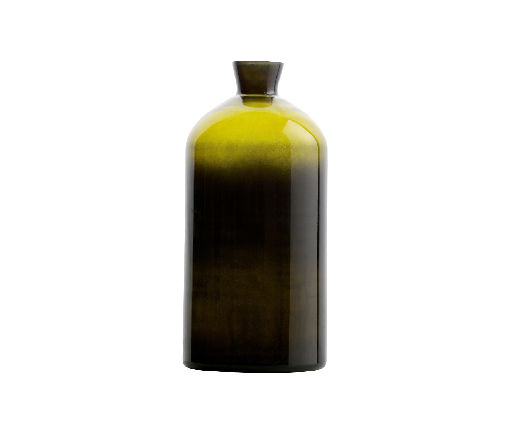 BePureHome Chemistry glazen vaas XL olive Olive