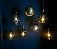 BePureHome Pure vintage hanglamp Ø 25 cm glas grijs Grijs