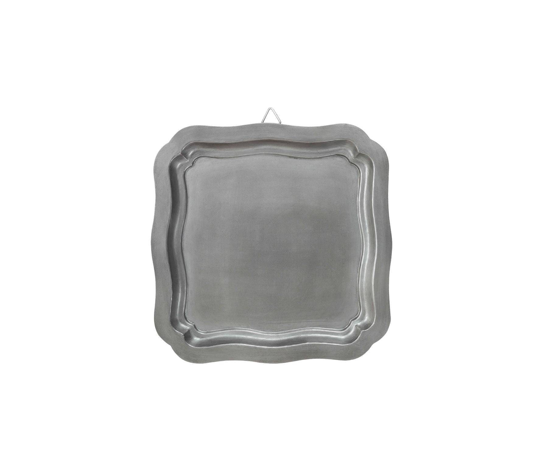 vtwonen Dienblad vierkant 40x40 cm antique zilver finish