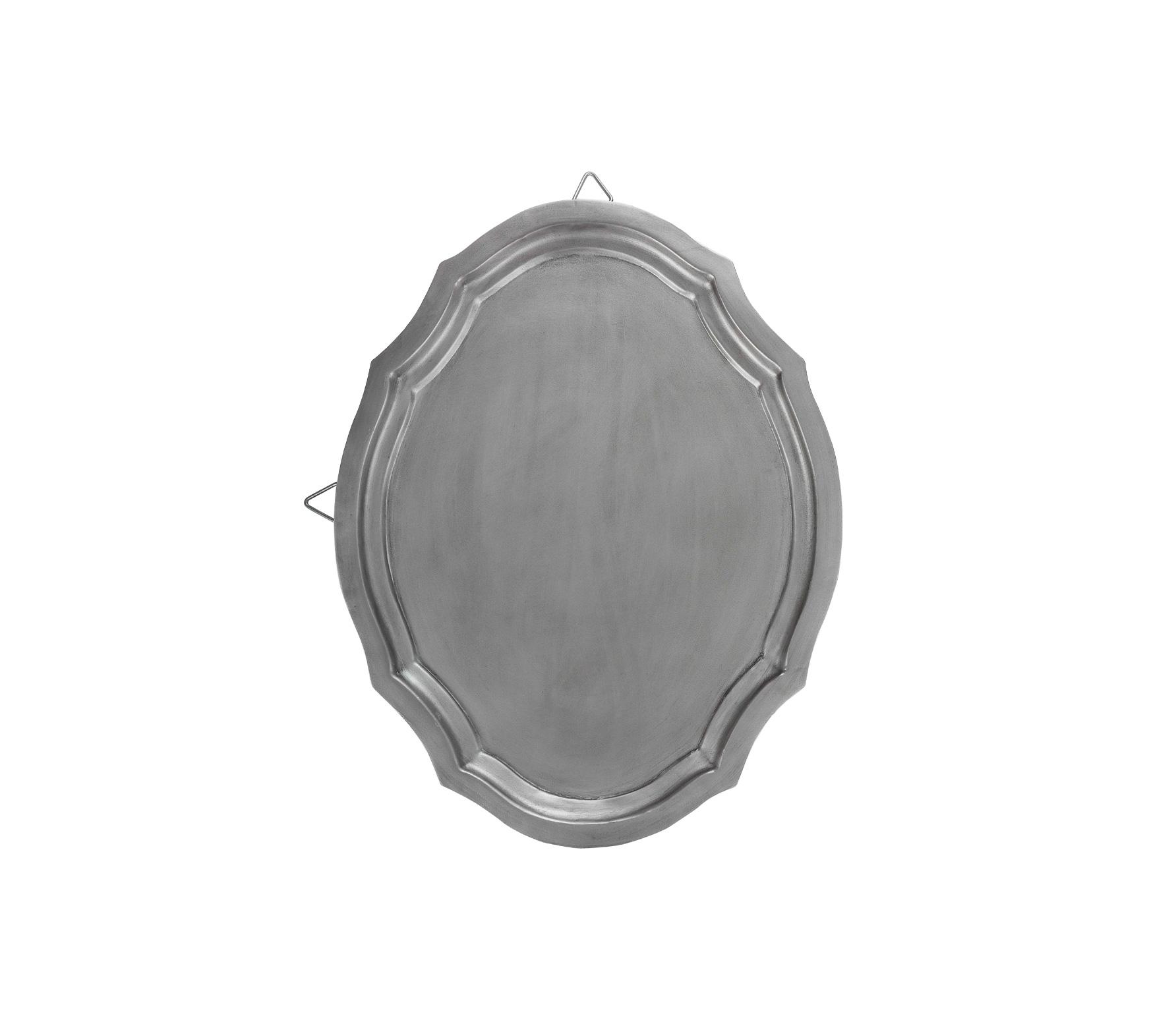 vtwonen Dienblad ovaal 52x40 cm antique zilver finish