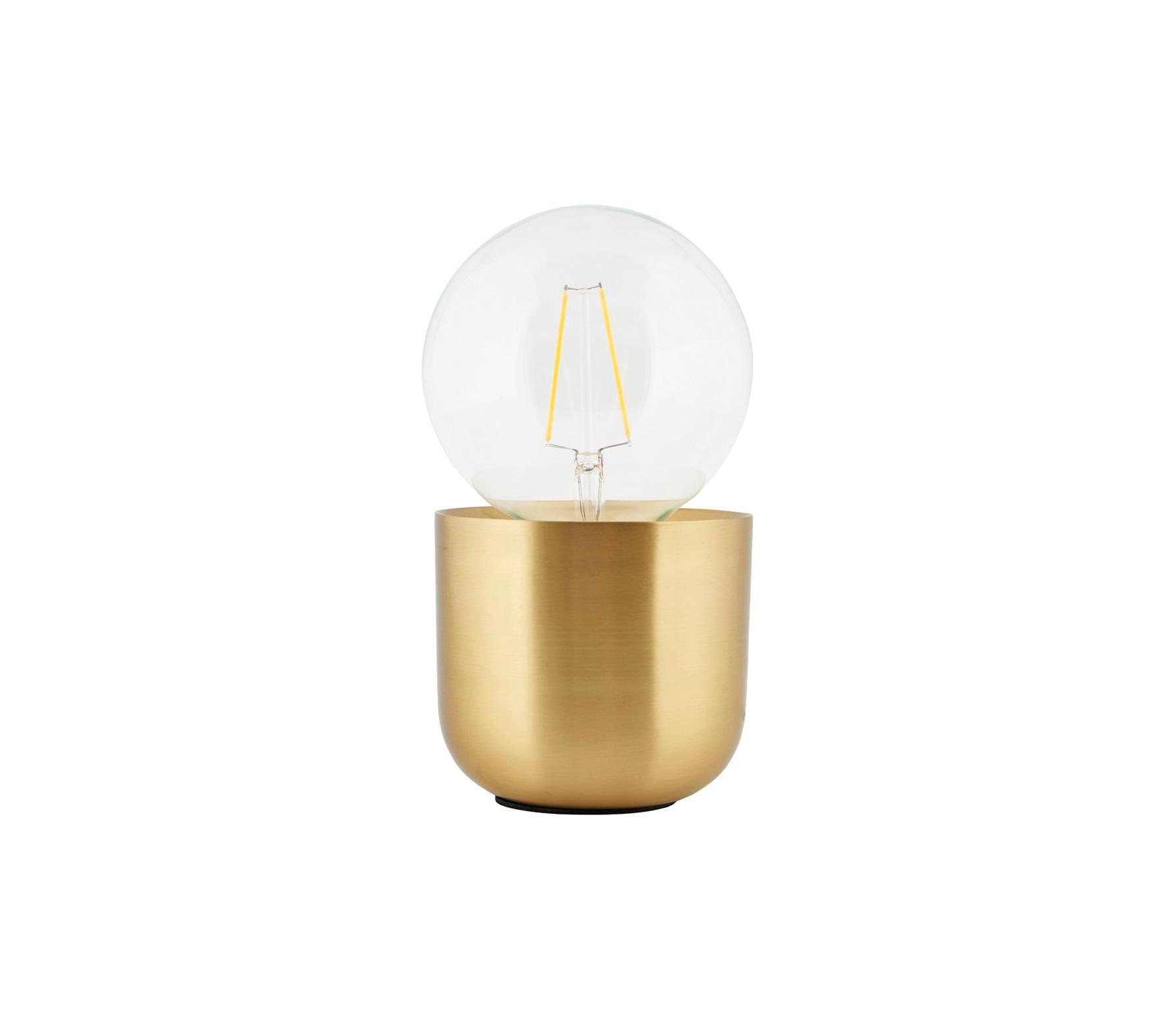 Housedoctor Gleam tafellamp brass finish Brass