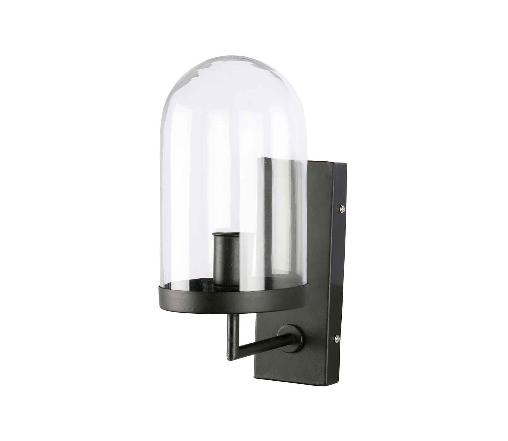 BePureHome Cover up wandlamp zwart zwart