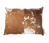 Riverdale kussen Lodge bruin 50 x 70 cm gevlekt