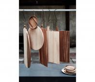 vtwonen Tray rubberhout 60x21 cm 60 x 21 CM