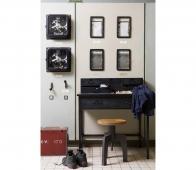 BePureHome Office bureau metaal zwart Office bureau zwart