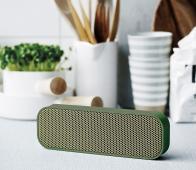 Kreafunk aGroove bluetooth speaker groen aGroove army