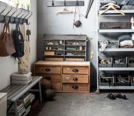 vtwonen Side by Side halbank 160x30x37,5 cm grijs gelakt hout