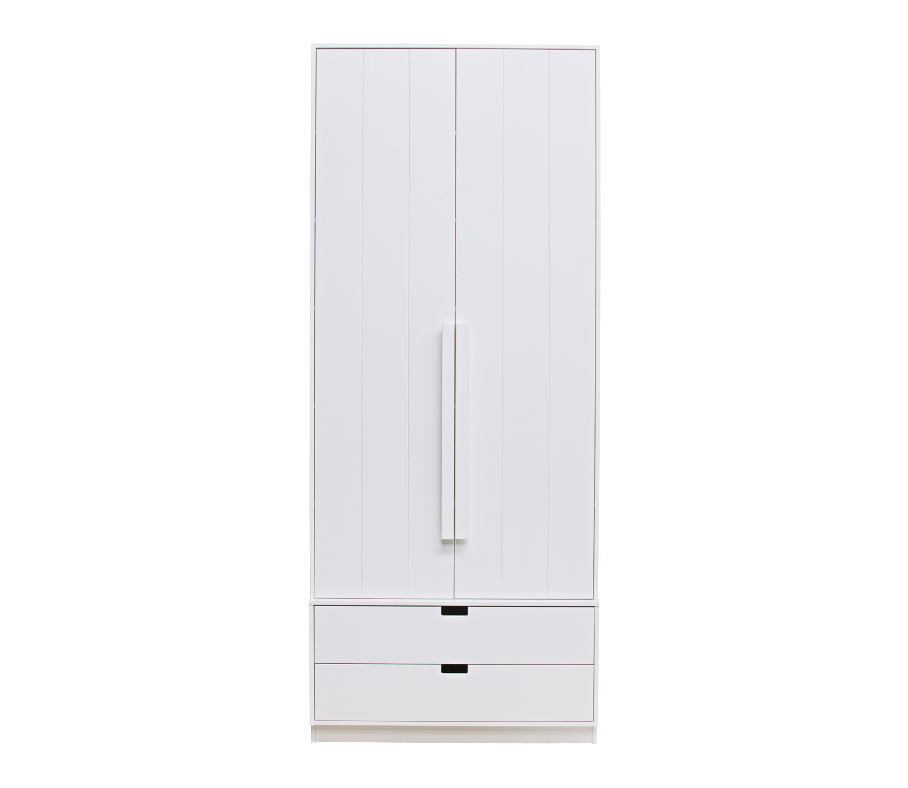 Basiclabel SKIK kast variant 14 wit 231x95x62 cm massief grenen