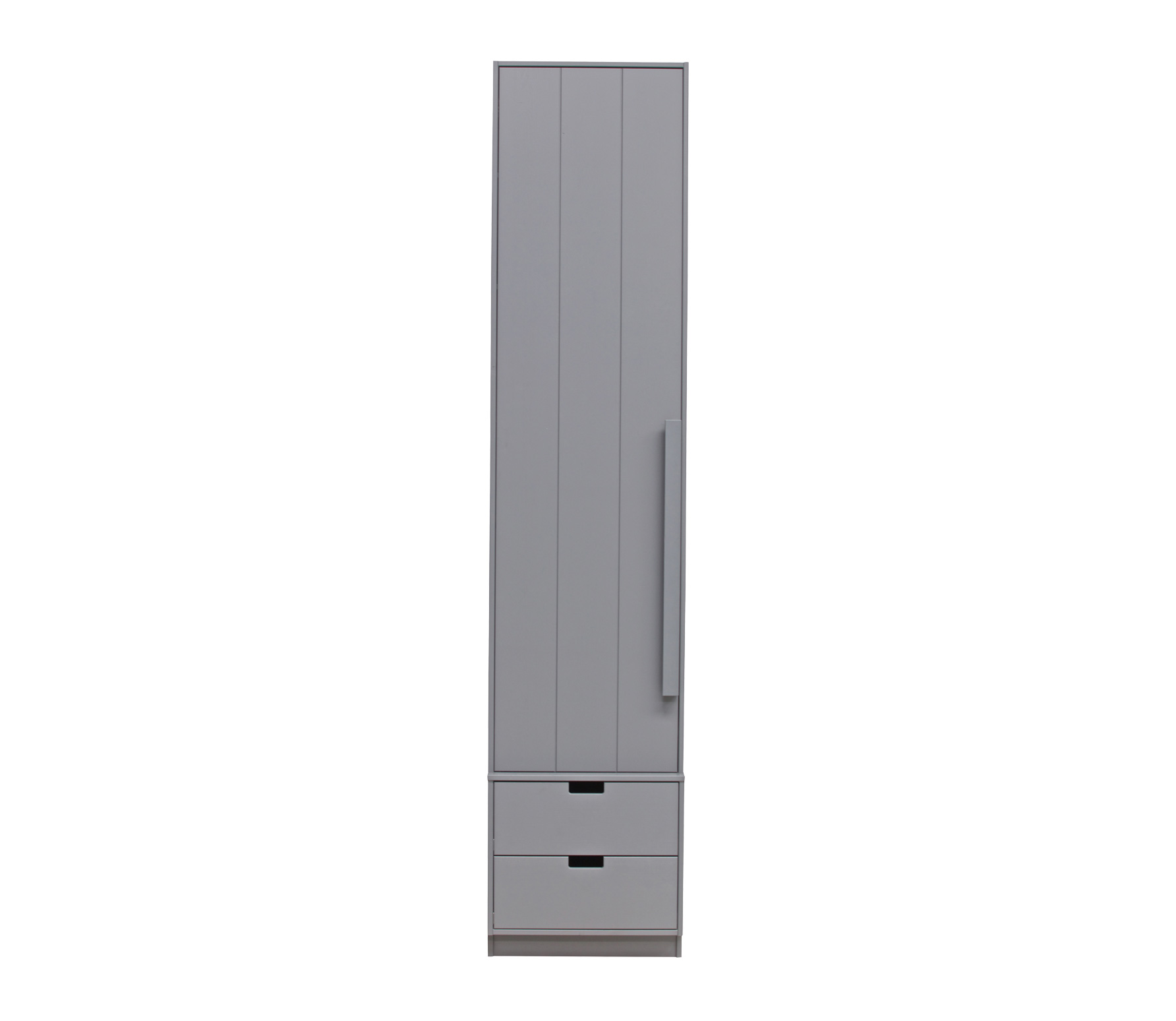 Basiclabel SKIK kast variant 11 leem 231x49x62 cm massief grenen