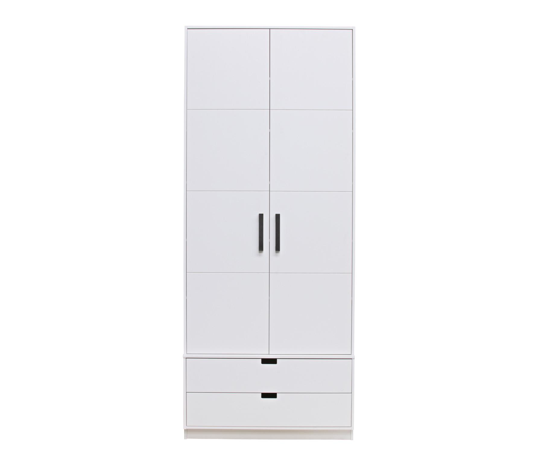 Basiclabel SKIK kast variant 1 wit 231x95x62 cm massief grenen