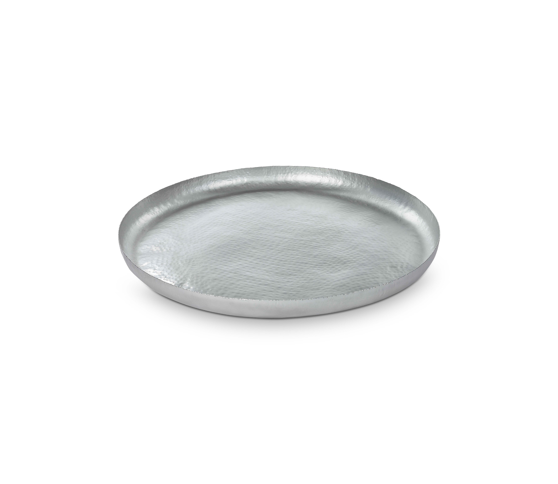 vtwonen dienblad zilver metaal diverse afmetingen Ø 70