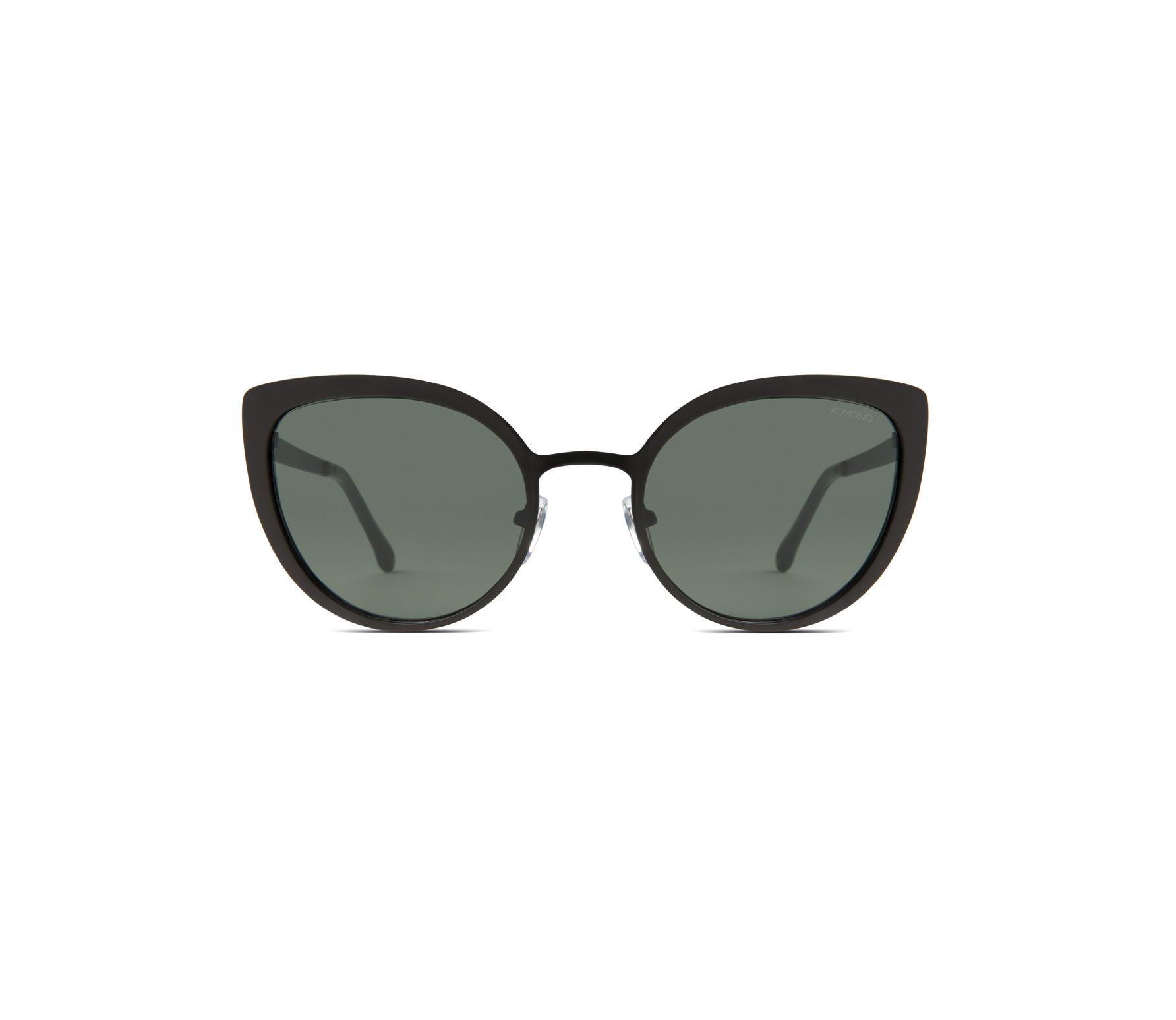 Komono zonnebril Logan mat zwart kunststof