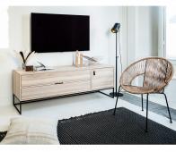 WOOOD Exclusive Silas tv meubel sydney eiken