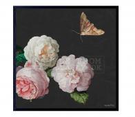 Poster Rosa XL kleur  incl. frame