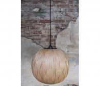 Dutchbone hanglamp Bond rond essen fineer Ø 40 cm