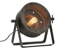 BePureHome Theatre tafellamp zwart  metaal