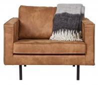 BePureHome Rodeo loveseat 1,5- zits fauteuil cognac  recycle leer