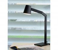 Mizuko bureaulamp zwart metaal
