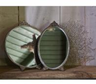 BePureHome Posh spiegel ovaal antique brass  metaal