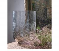 BePureHome Heirloom vaas L bruine glans glas