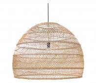 HKLiving Ball hanglamp naturel, Ø 80 cm riet