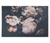Vloerkleed Peony lichtroze/zwart div. afmetingen  155x230cm