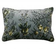 BePureHome kussen poppy grijs 40x60 cm velvet