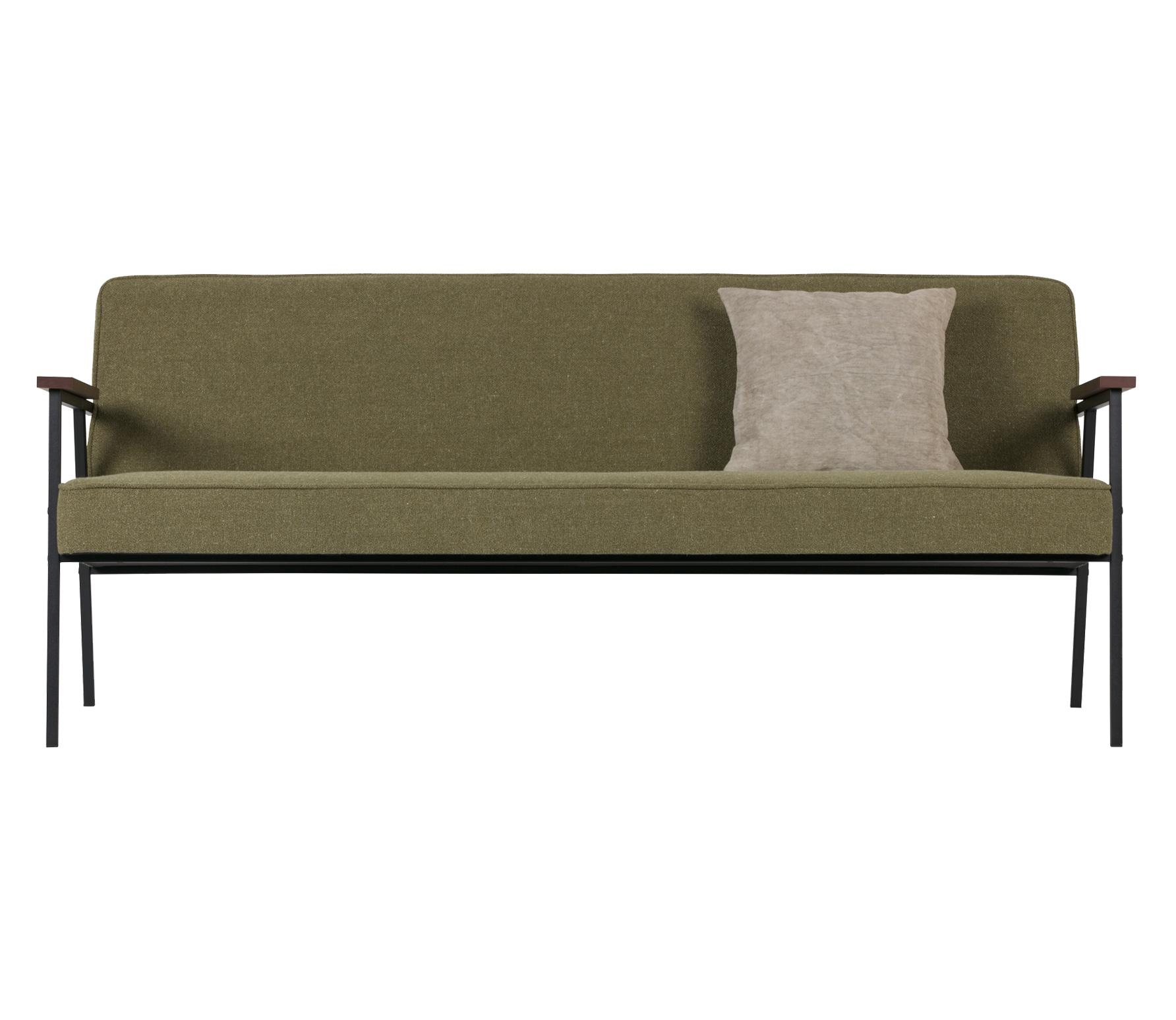WOOOD Exclusive Elizabeth 2,5 zits sofa olijfgroen olijfgroen