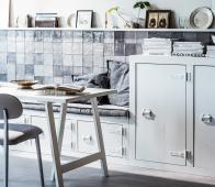 vtwonen Bunk bank/tv meubel wit  grenen