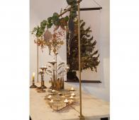 BePureHome December kerstposter velvet 144x74 cm stof
