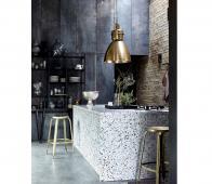 Housedoctor Define barkruk goud  staal