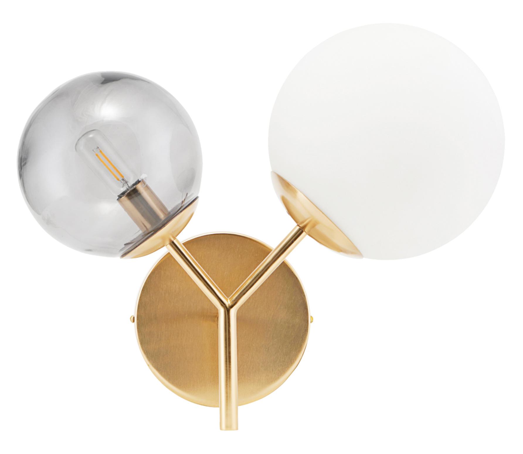 Housedoctor Twice wandlamp brass brass finish